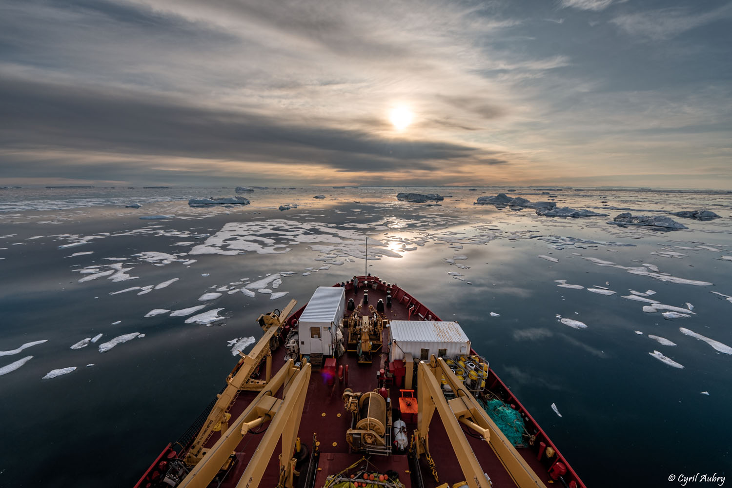 $20.7 million to support Canada's research icebreaker CCGS Amundsen