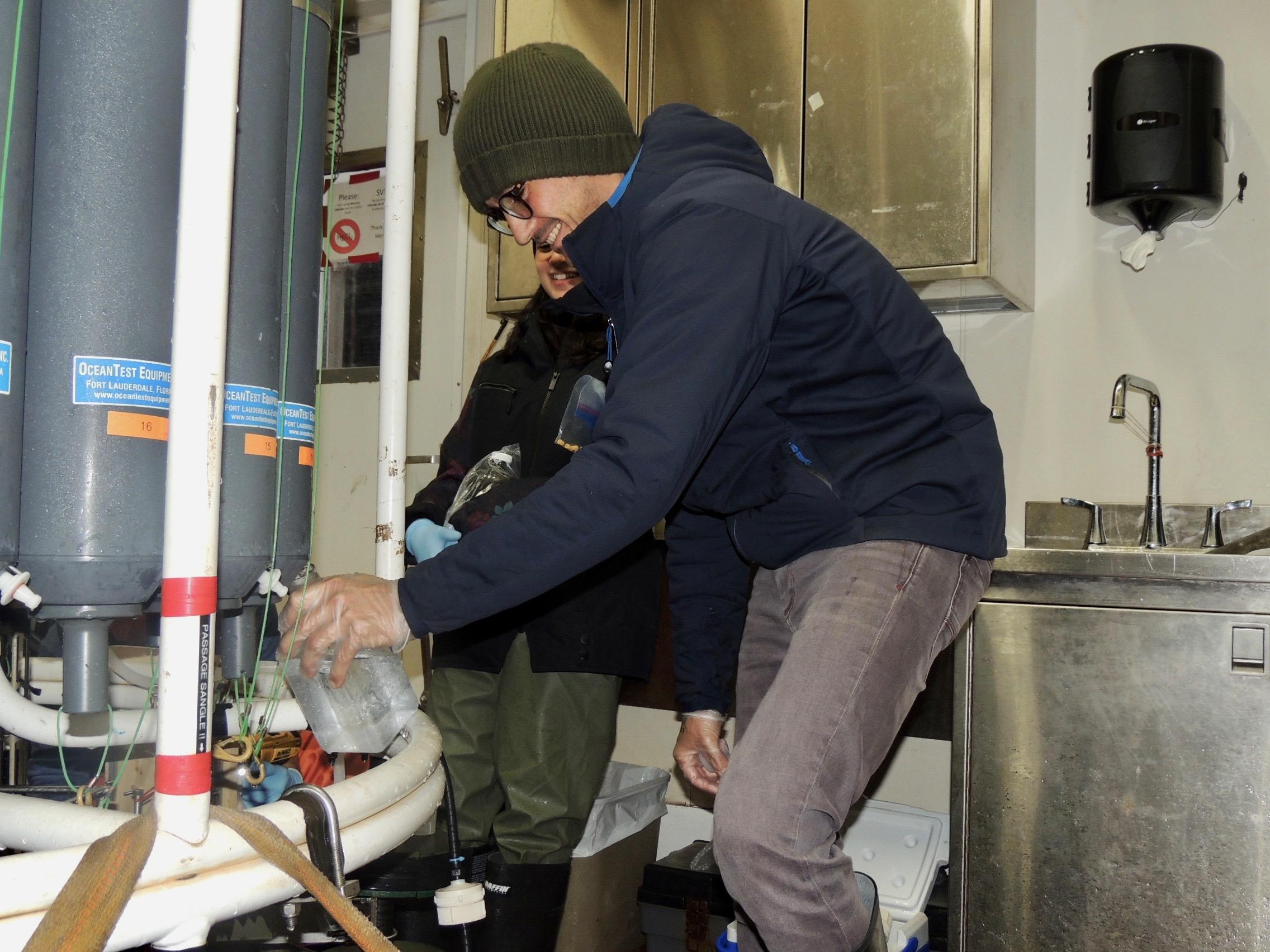 ARCTIC WATER MASSES DISTINGUISHED USING RADIUM ISOTOPES